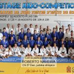 Poster Trofeo Fiestas Sineu y V Stage Judo Competición